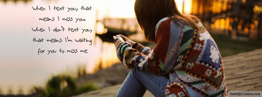Couple Hug Wallpaper With Quotes When I Text You Facebook Cover Trendycovers Com