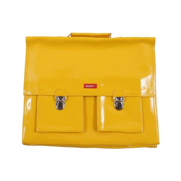 cartable-bretelles-grande-classe-vinyle-jaune