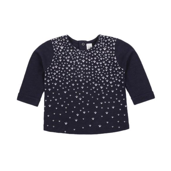 t-shirt-uccello-raro-blu-marino