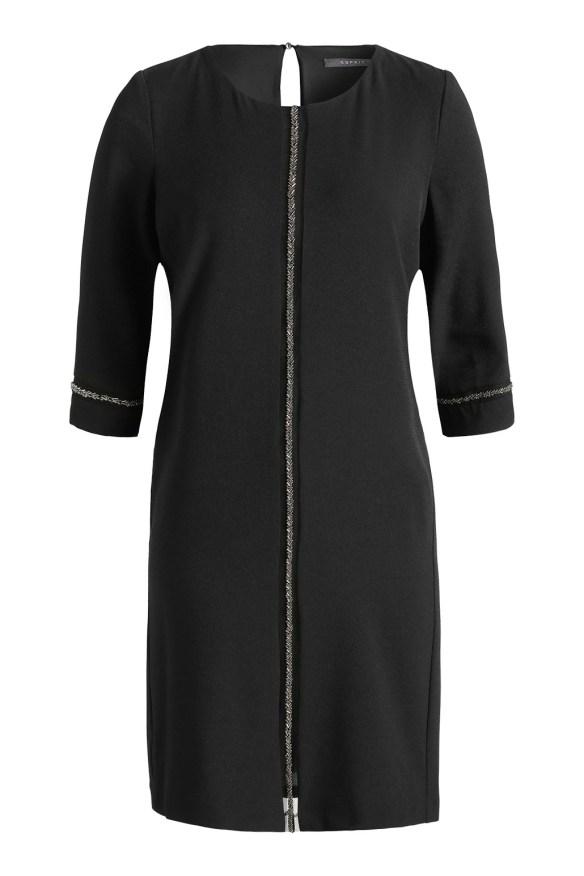 esprit shop on line idea regalo donna abito nero