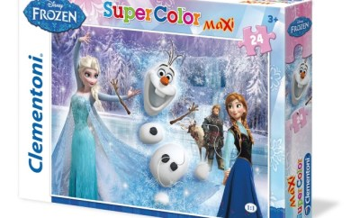 puzzle Clementoni Frozen frozen-always-up-for-adventure-24-pcs-supercolor-puzzle