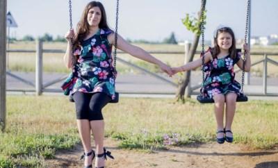 vestito uguale mamma figlia estate