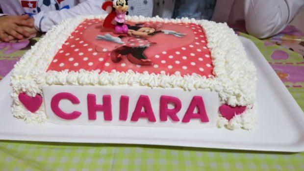 torta compleanno Minnie