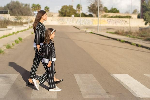 mini me mamma e bambina uguale