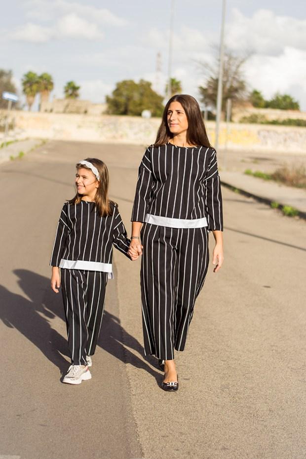 abbigliamento mamma e figlia uguale