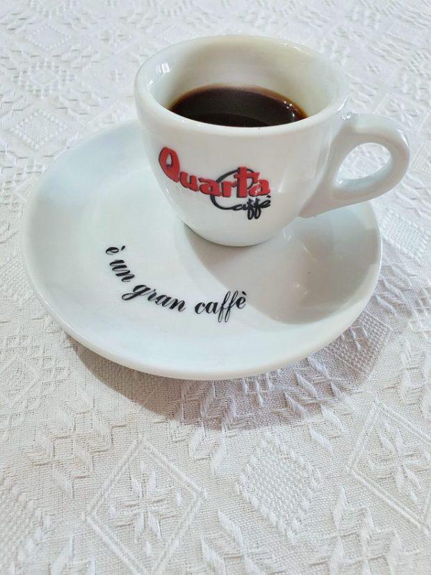 quarta caffè prezzo