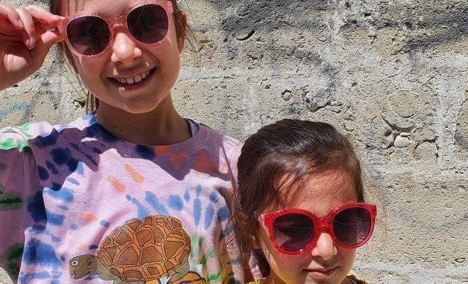 occhiali da sole per bambini