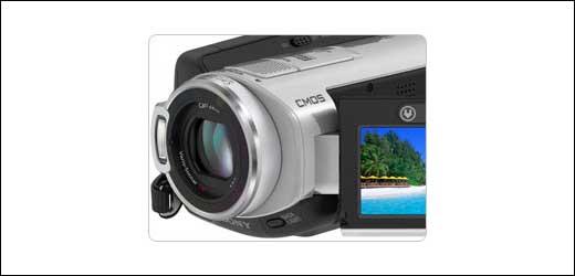 Sony SR5C, SR8 HD camcorders