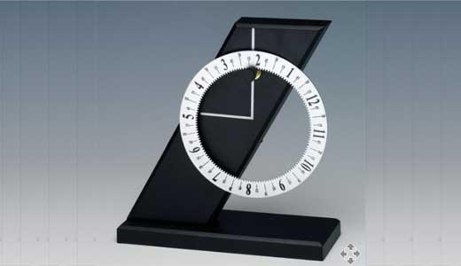 Slant Clock