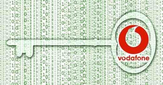 Vodafone Encrypted SMS