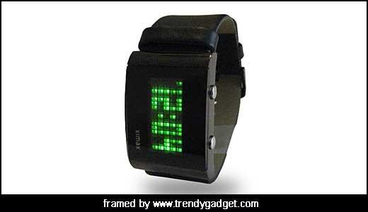 LED Dot Matrix Display Watch