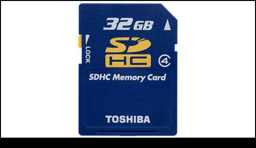 Toshiba 32GB SDHC