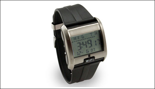 Wi-Fi Detecting Watch