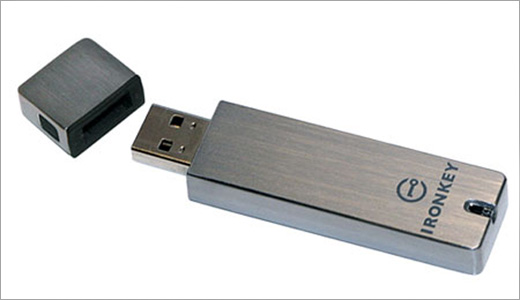 IronKey Secure USB Drive With 8GB