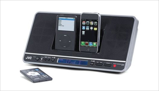 Dual iPod Dock And Table Radio