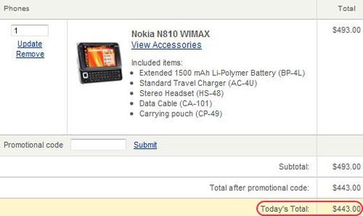 nokia n810 tablet wimax