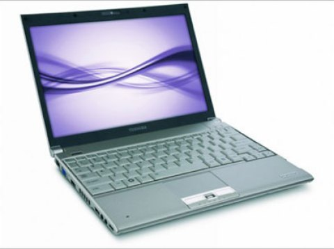 Toshiba Portege R600 ultraportable notebook