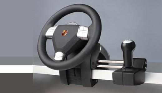 Limited Edition Porsche Xbox 360 Steering Wheel