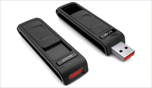 SanDisk Ultra® Backup USB Flash Drive