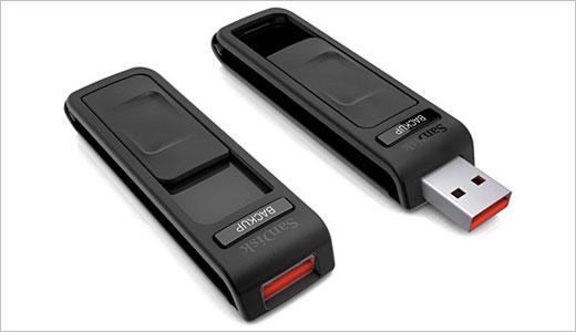 SanDisk Ultra® Backup USB Flash Drive
