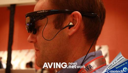 vuzix sunglass-style video eyewear