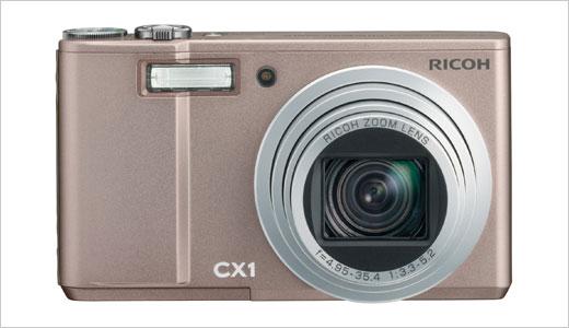 ricoh cx1 pink front