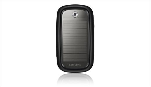 samsung blue earth solar powered phone