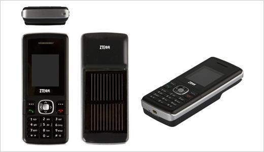 zte solar powered phone