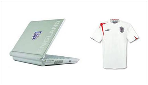 England Football Team Mini-Notebook