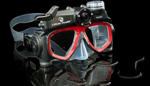 liquid goggle camera mask