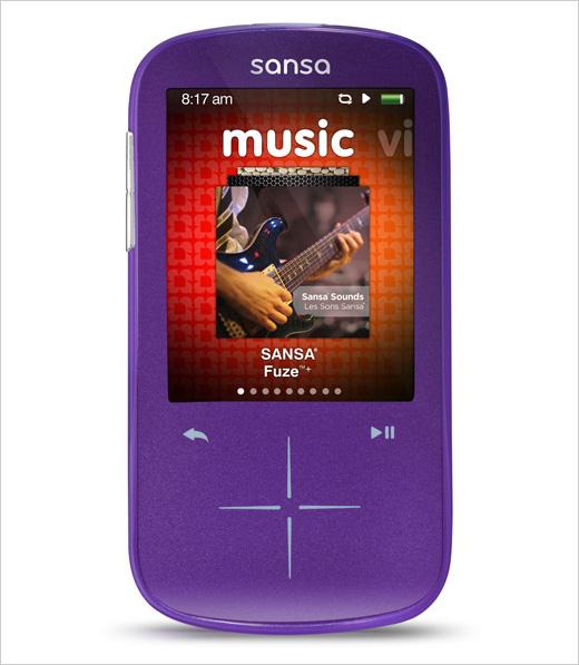 Sansa Fuze+ MP3 player