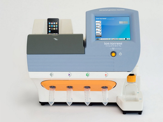 Ion Personal Genome Machine (PGM) Sequencer by Life Technologies