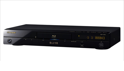 Pioneer Elite Blu-ray 3D Player, BDP-43FD