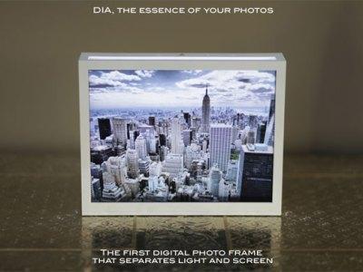 DIA Parrot Digital Photo Frame by nodesign