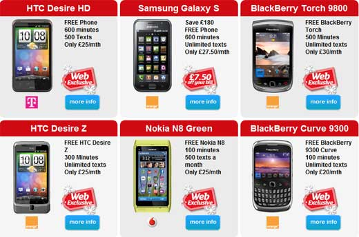 Free Christmas Gifts With Phone Deals Trendy Gadget