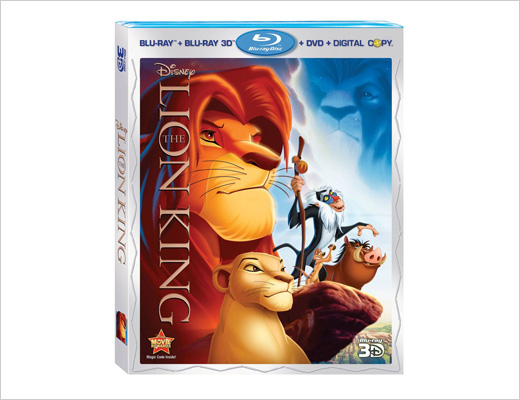 Lion King on Blu-ray 3D