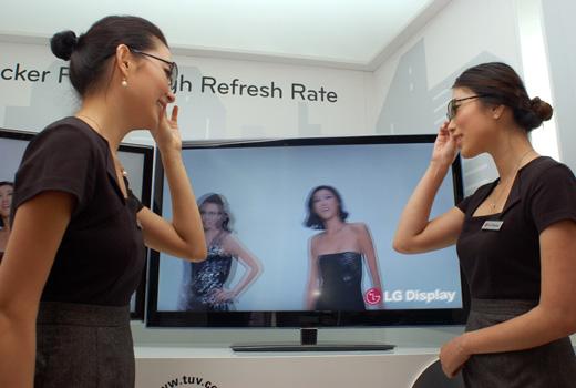 Film Patterned Retarder (FPR) 3D Panel from LG