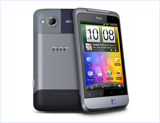 HTC Salsa Facebook Phone