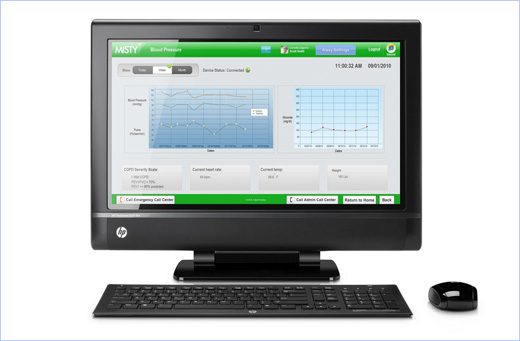 HP TouchSmart 9300 Elite Business PC