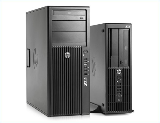 HP Z210 Workstations
