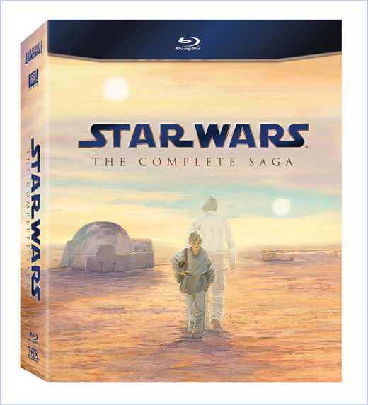 Star Wars: The Complete Saga on Blu-ray