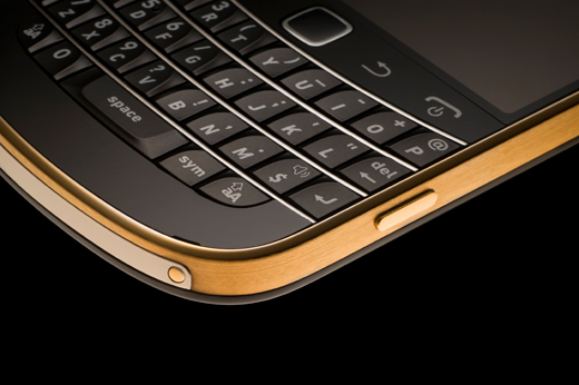 Amosu 24 Carat Gold BlackBerry 9900