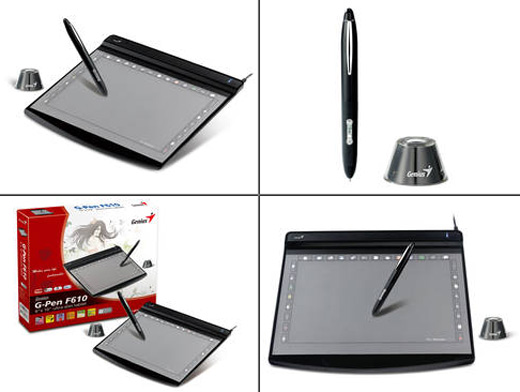 G-Pen F610 Ultra Slim Writing Graphic Tablet / by Genius