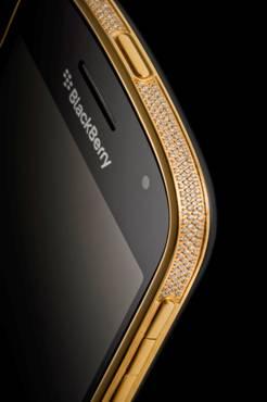 Blackberry 24ct Gold Swarovski Bold 9900
