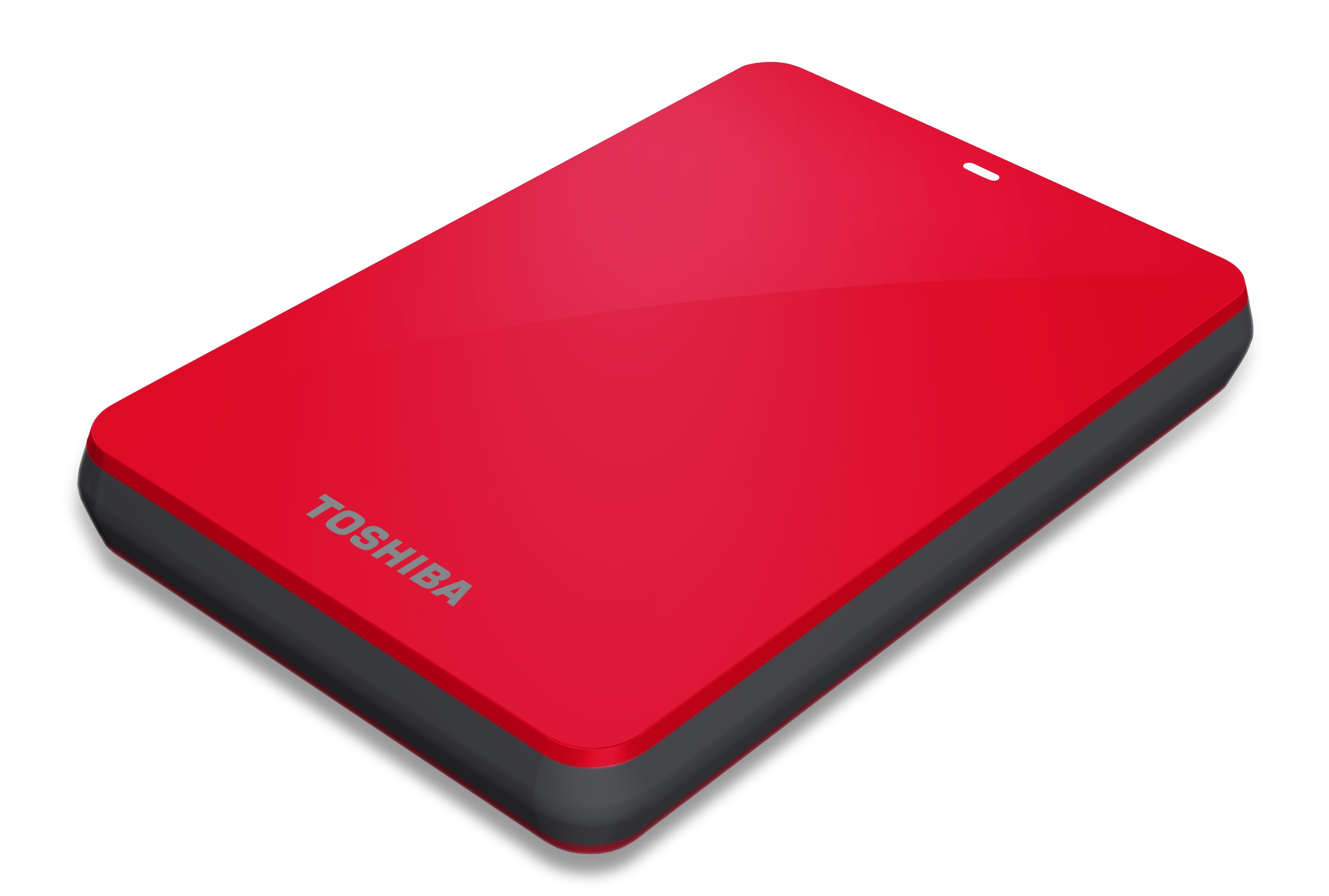 Toshiba Canvio 3.0 HDD in red