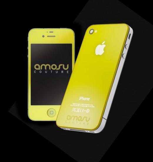Coloured iPhone 4S - Sunshine Yellow