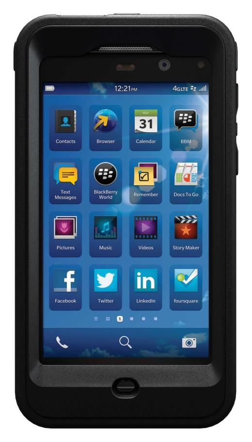 OtterBox Case for BlackBerry Z10 Smartphone