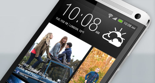 New HTC One BlinkFeed