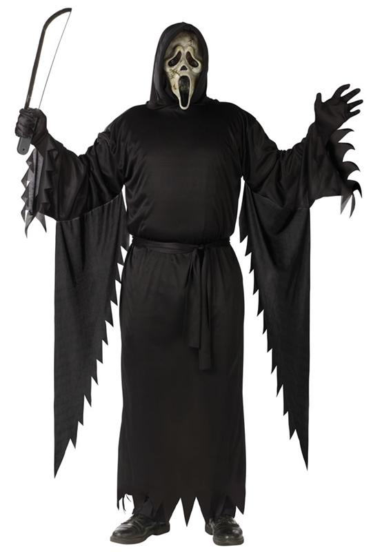 Scream Plus Size Adult Mens Costume