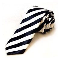 Black And White Striped Tie Pictures to Pin on Pinterest ...